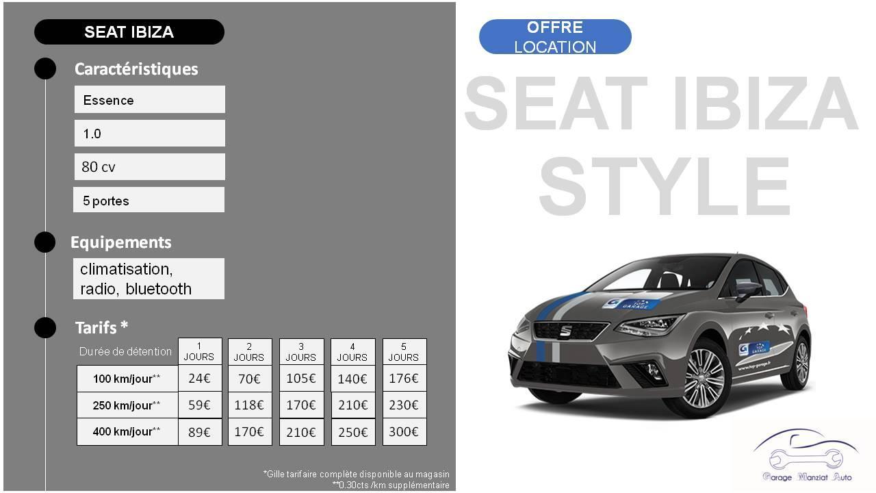 Affiche seat