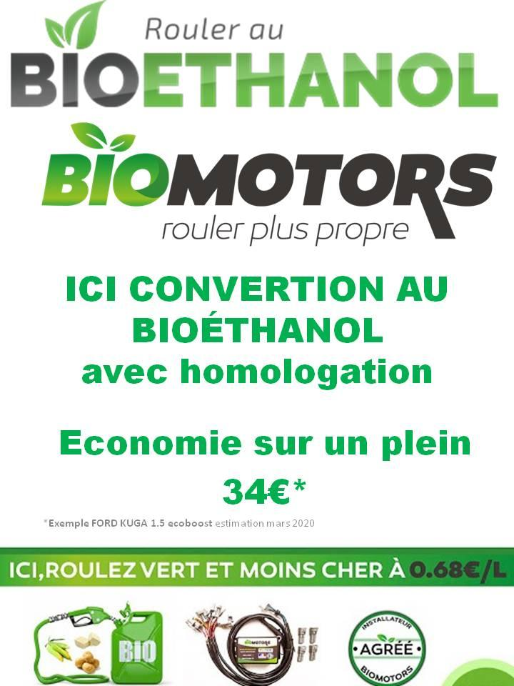 Ici convertion au bioethanol