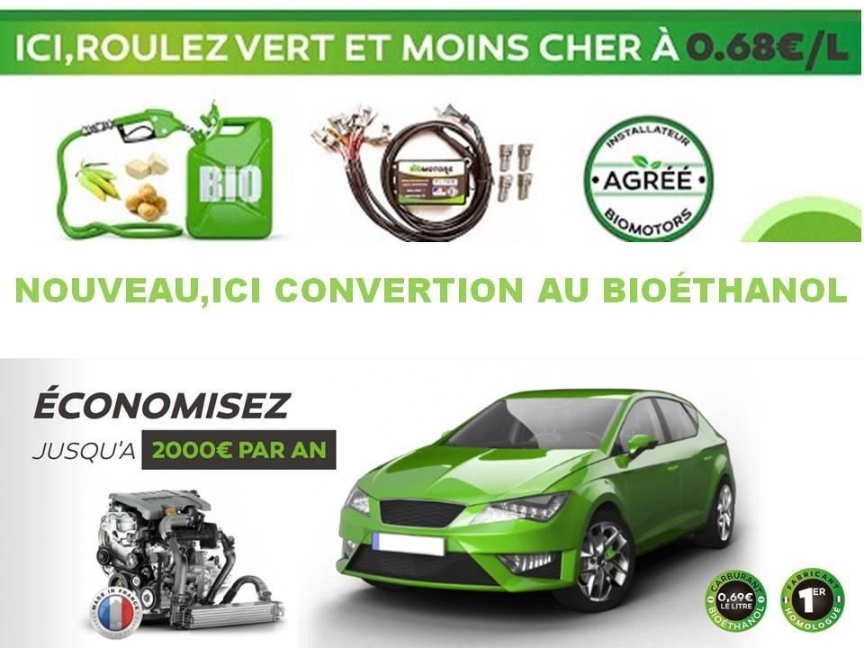 Nouveau ici convertion au bioethanol
